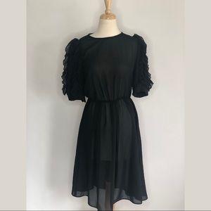 Samuel Grossman vintage Dress w/ruffle sleeves